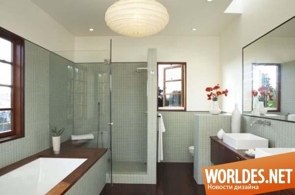 Ванные комнаты дизайн в доме