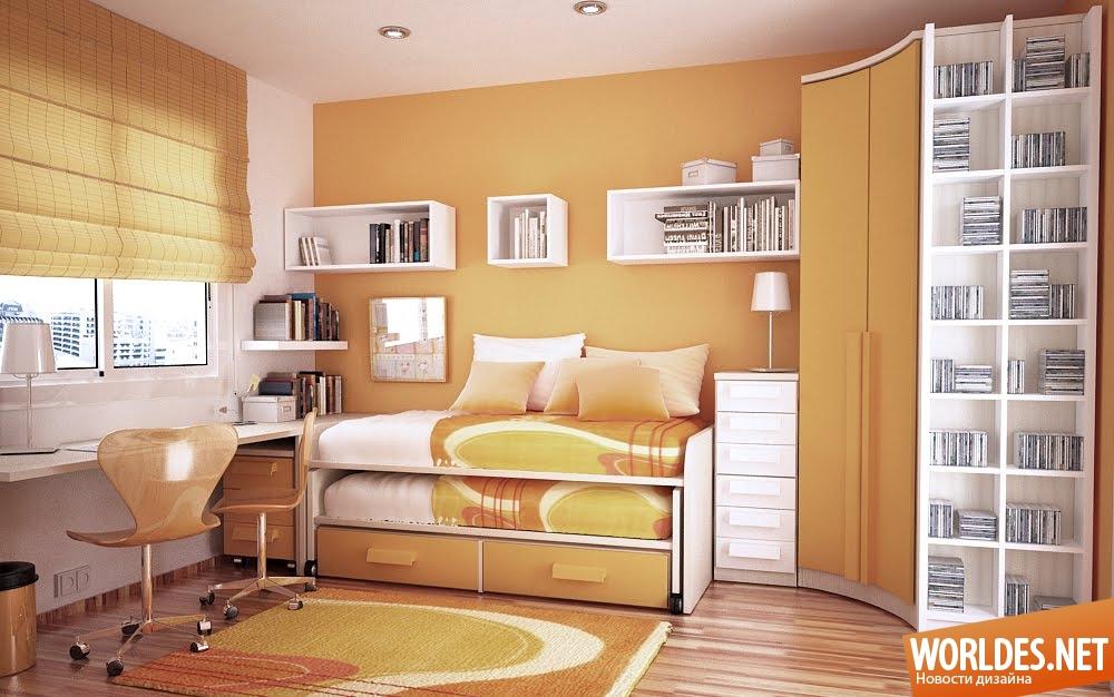 Как сделать красивый интерьер в маленькой комнате