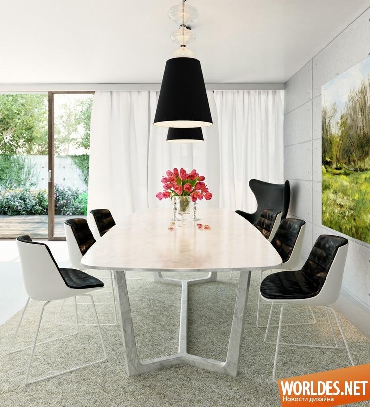 Дизайн столовых в доме