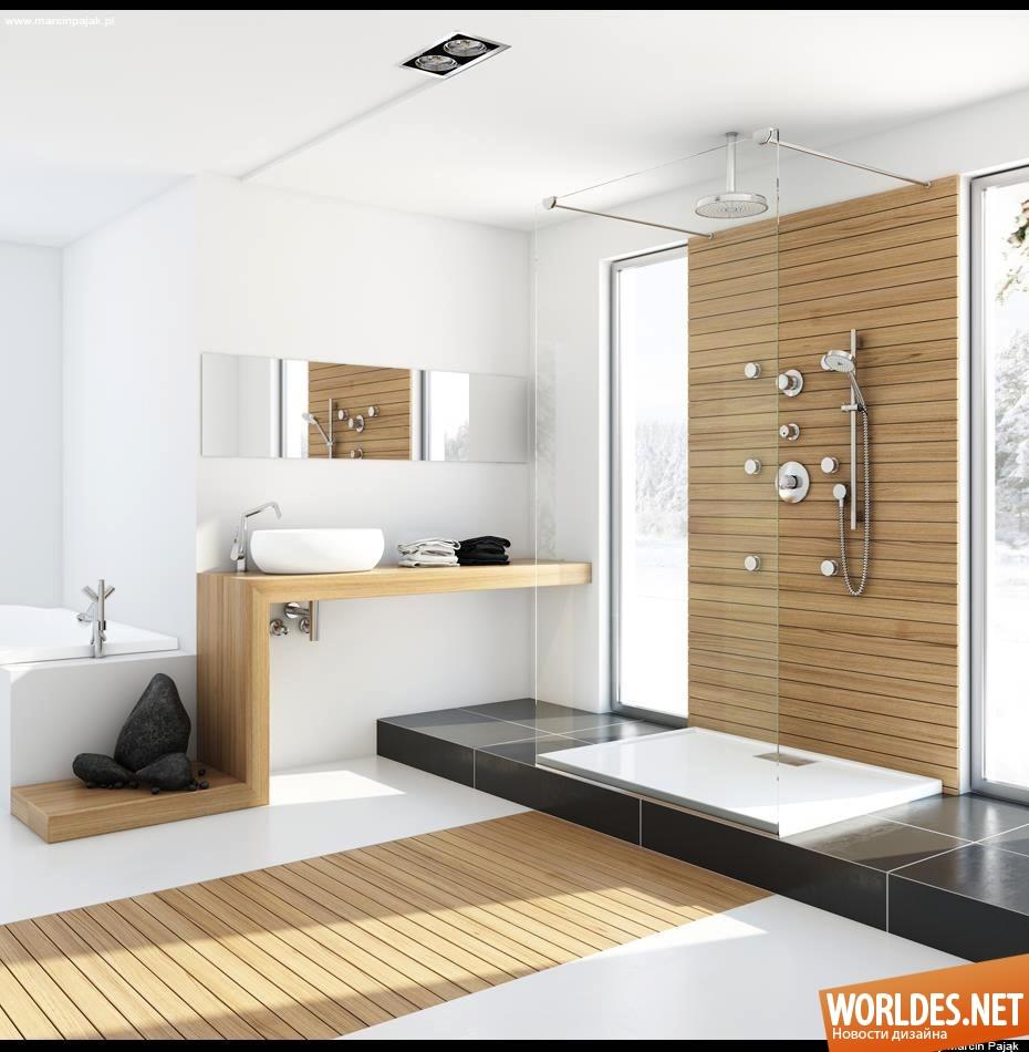 Bathroom wall designs