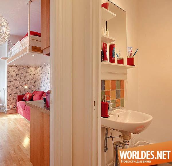 Квартира площадью 21 квадратный метр — HQROOM   580x600