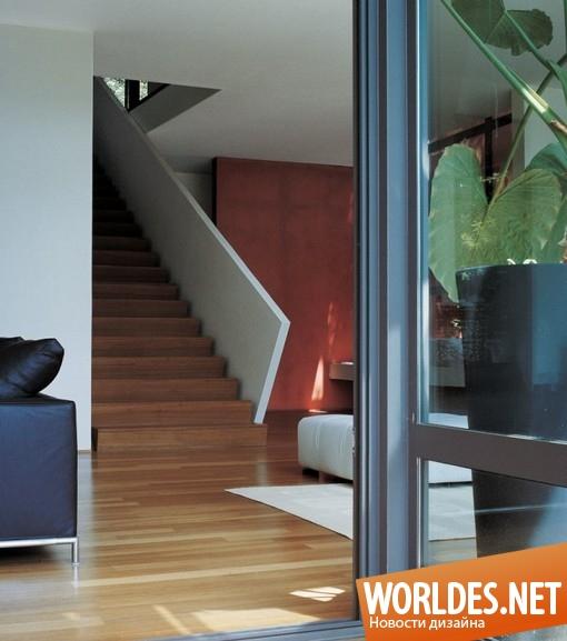 Дизайн дом в лесу
