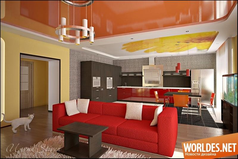 Кухня и гостиная вместе дизайн 20 кв
