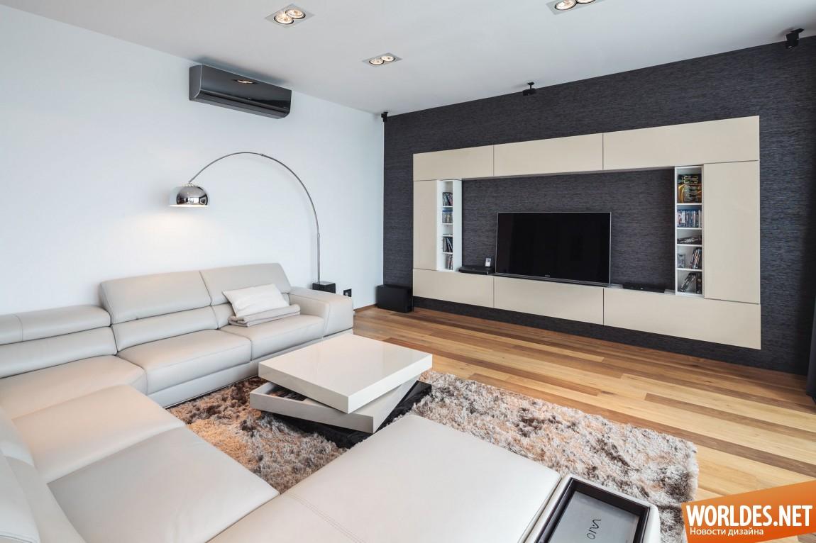 Дизайн интерьера квартира-студия