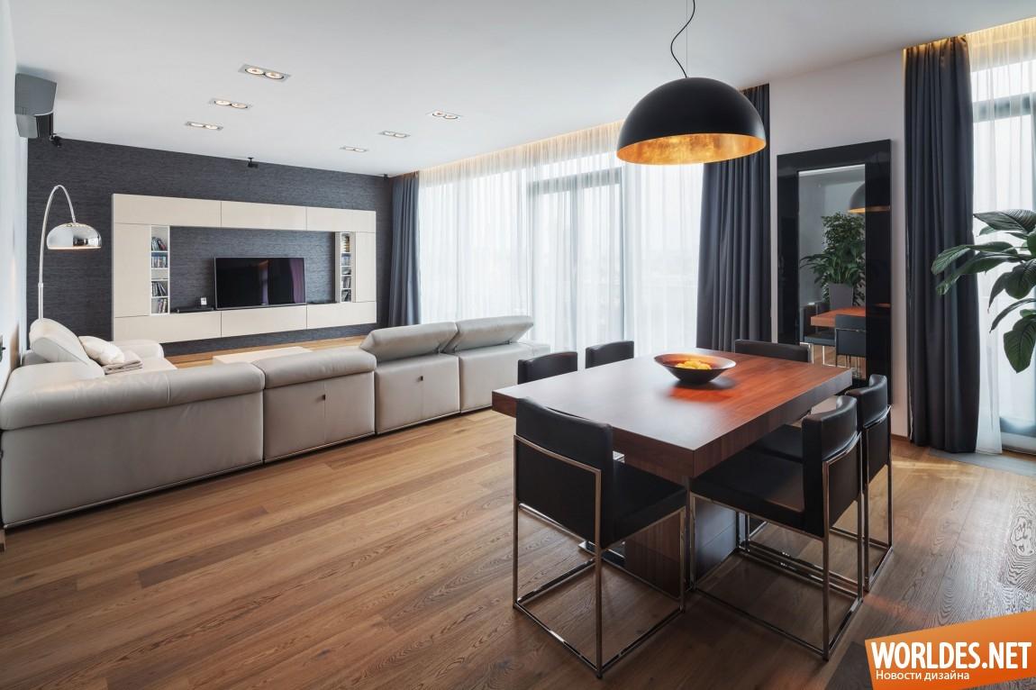 Квартиры в омске в стиле модерн
