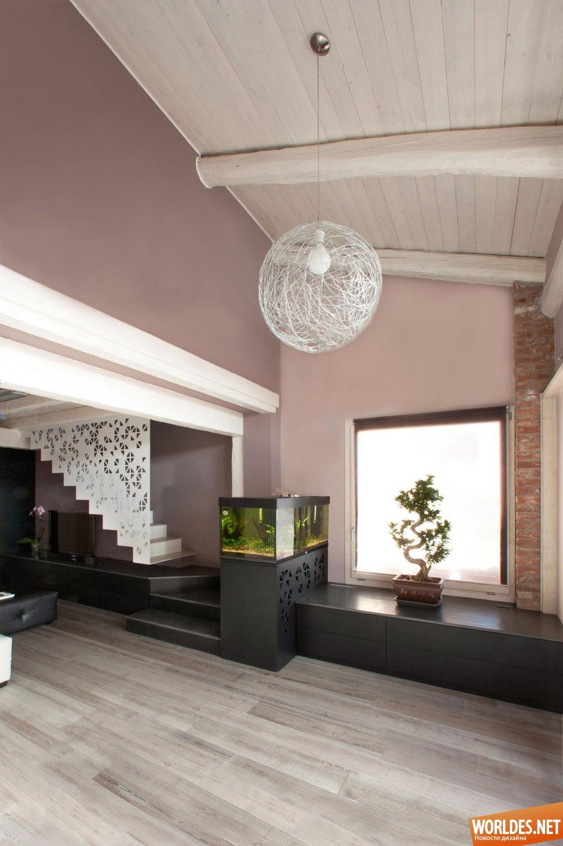 Стены цвета какао с молоком в интерьере фото