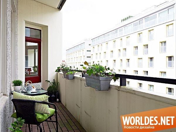 Мебель для открытого балкона