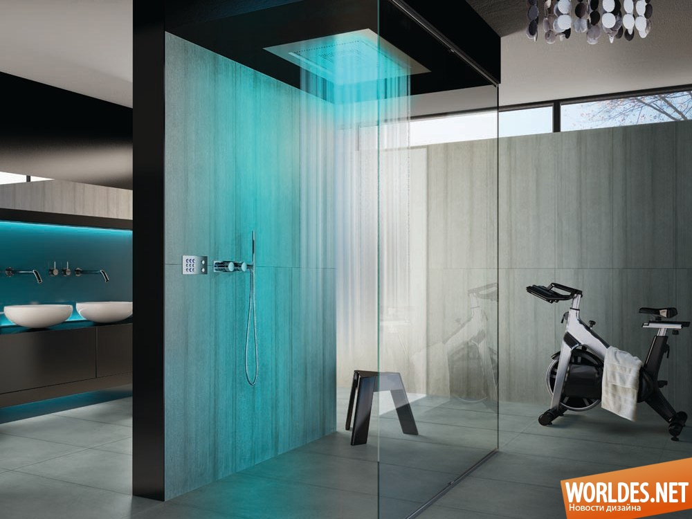 Дизайн душевых комнат фото 2016 современные идеи