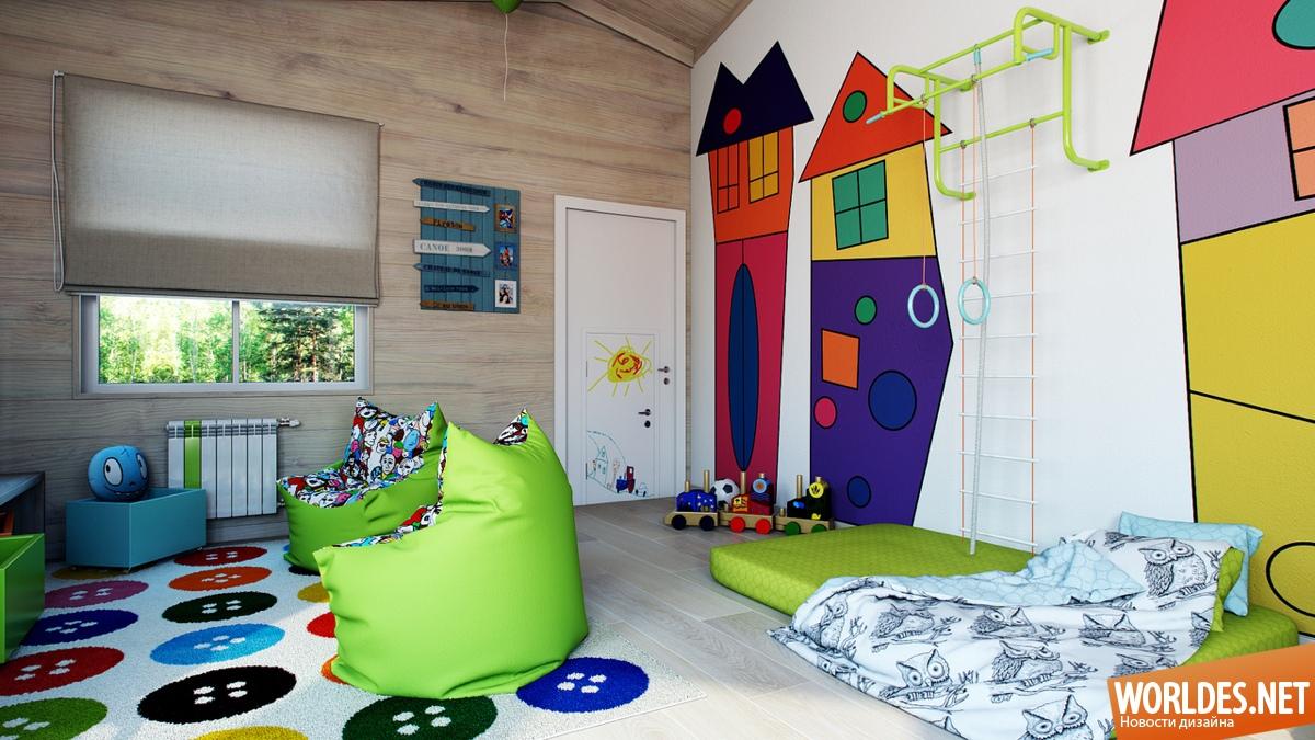 Идеи для детской комнаты, которые понравятся любому взрослом.