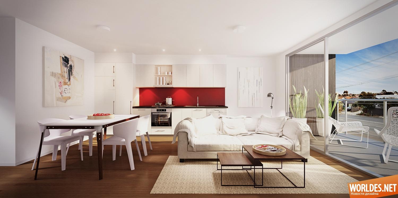 Интересные интерьеры квартир фото