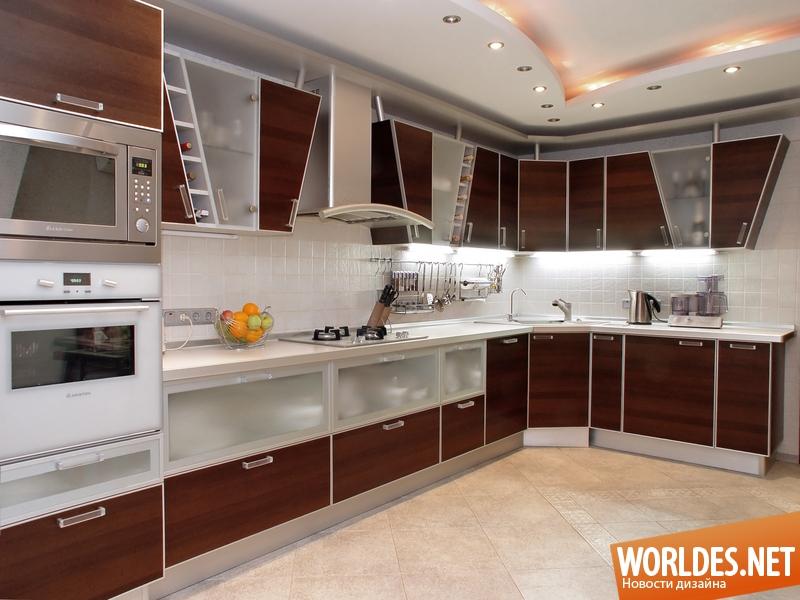 красивая кухонная мебель фото