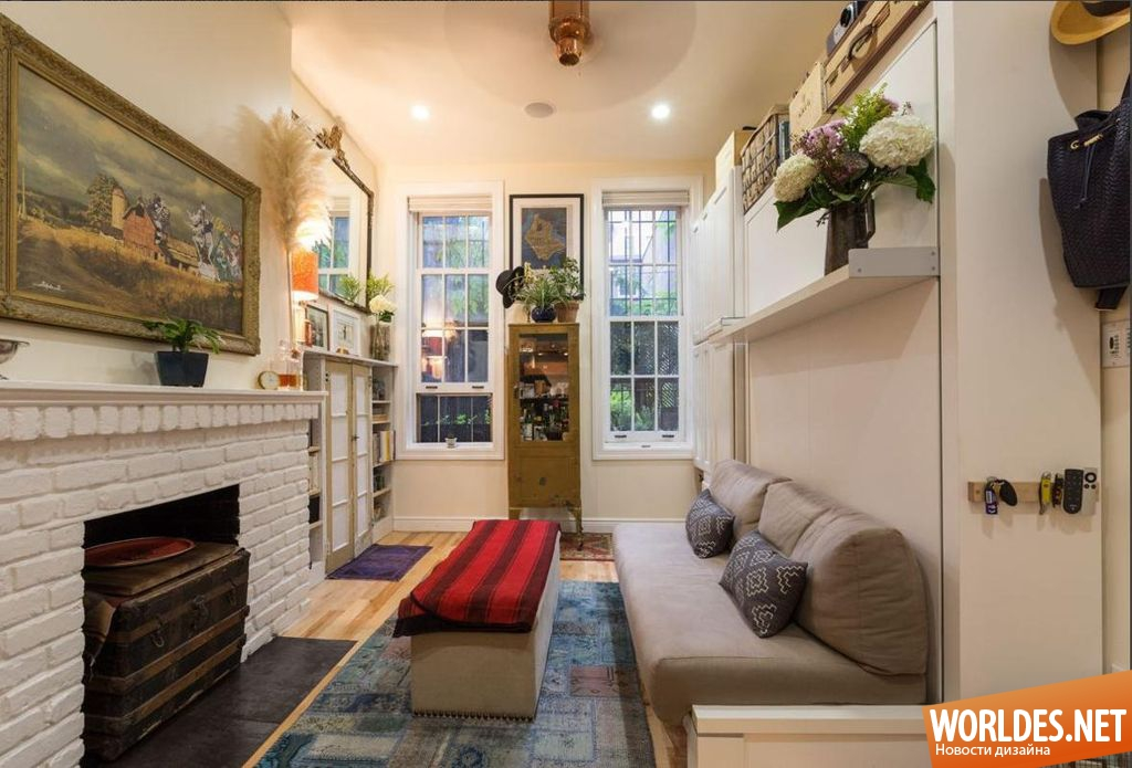 Практичный интерьер небольшой квартиры фото