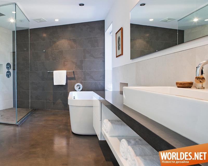 Фото стильных ванных комнат кафель для ванной мебель