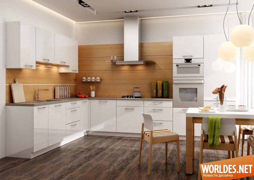 Простые стильные кухни фото