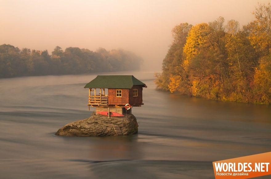 красивые картинки домов на природе