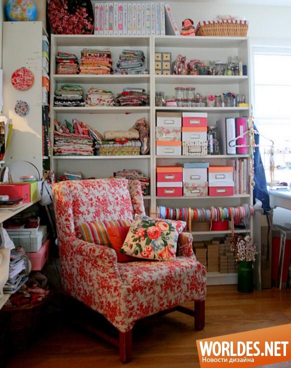 Швейный уголок в квартире фото