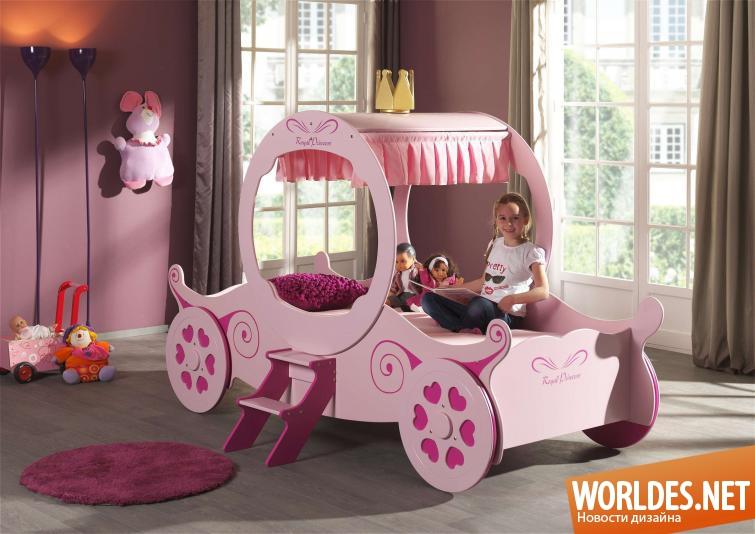 картинки кровати детские для девочек