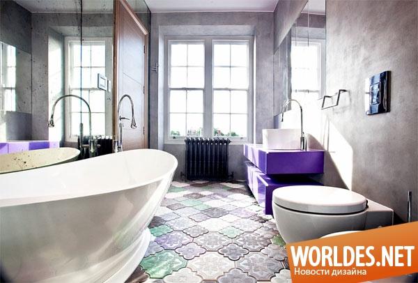 Ванная комната Самые Как Красивые Актуальные модные