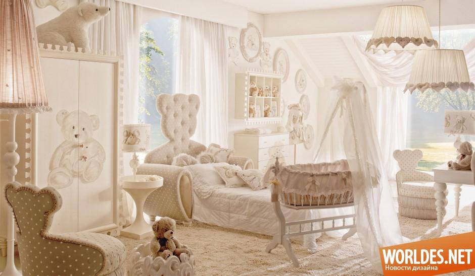 мебель и декор для спальни в виде плюшевого медведя