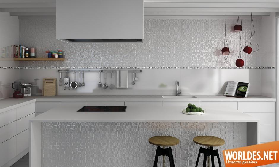Модная плитка на кухню