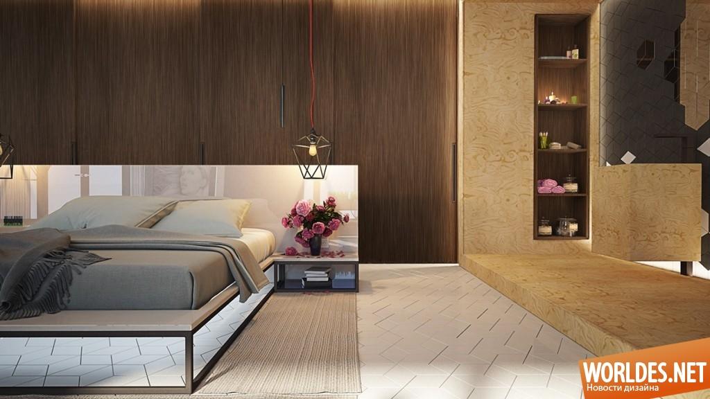 Интересные идеи для спален: уникальный дизайн в каждом доме