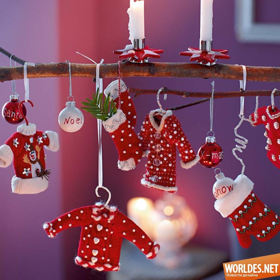 Идеи новогоднего украшения дома своими руками