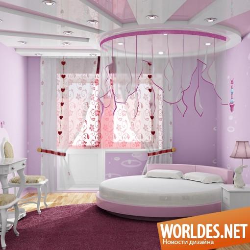 необычные и красивые детские комнаты