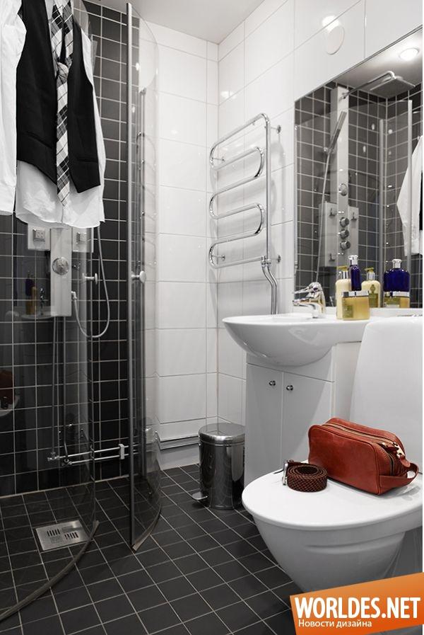 Интерьер ванной комнаты 3 кв.м без туалета фото