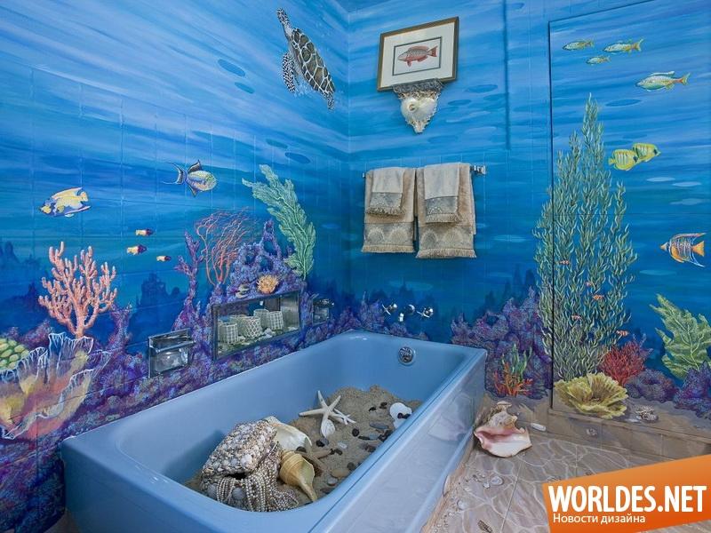 Идеи дизайна ванной комнаты фото 45