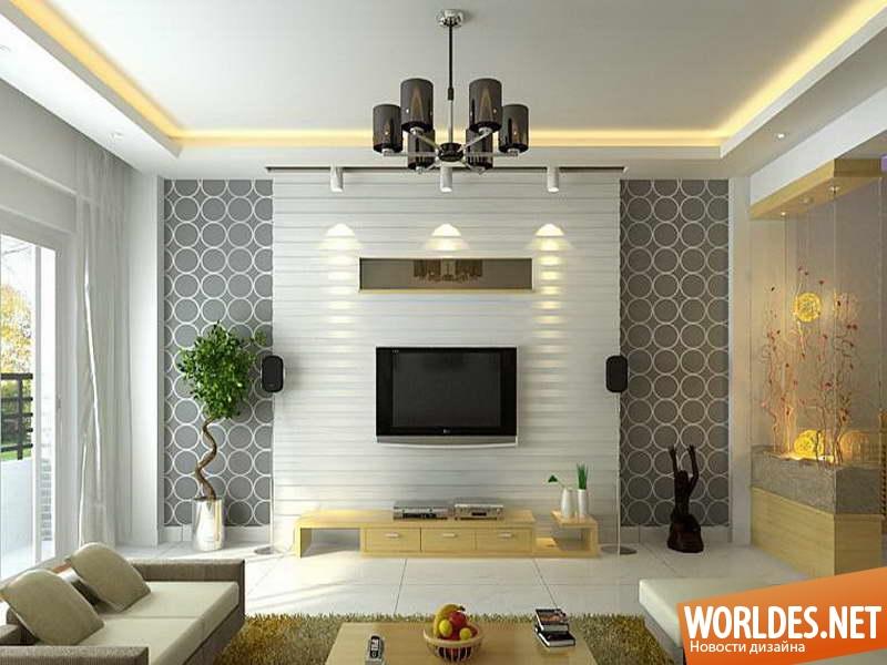 Дизайн гостиной своими руками с