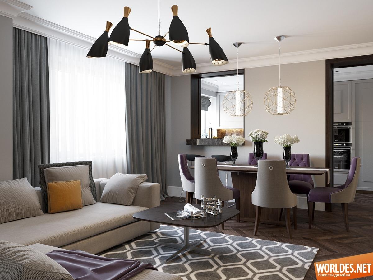 Красивые интерьеры домов в стиле арт деко