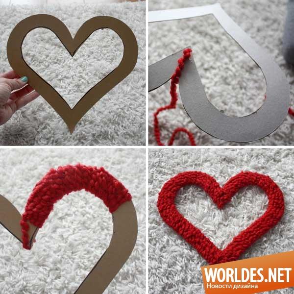 Красивые валентинки ко дню святого валентина своими