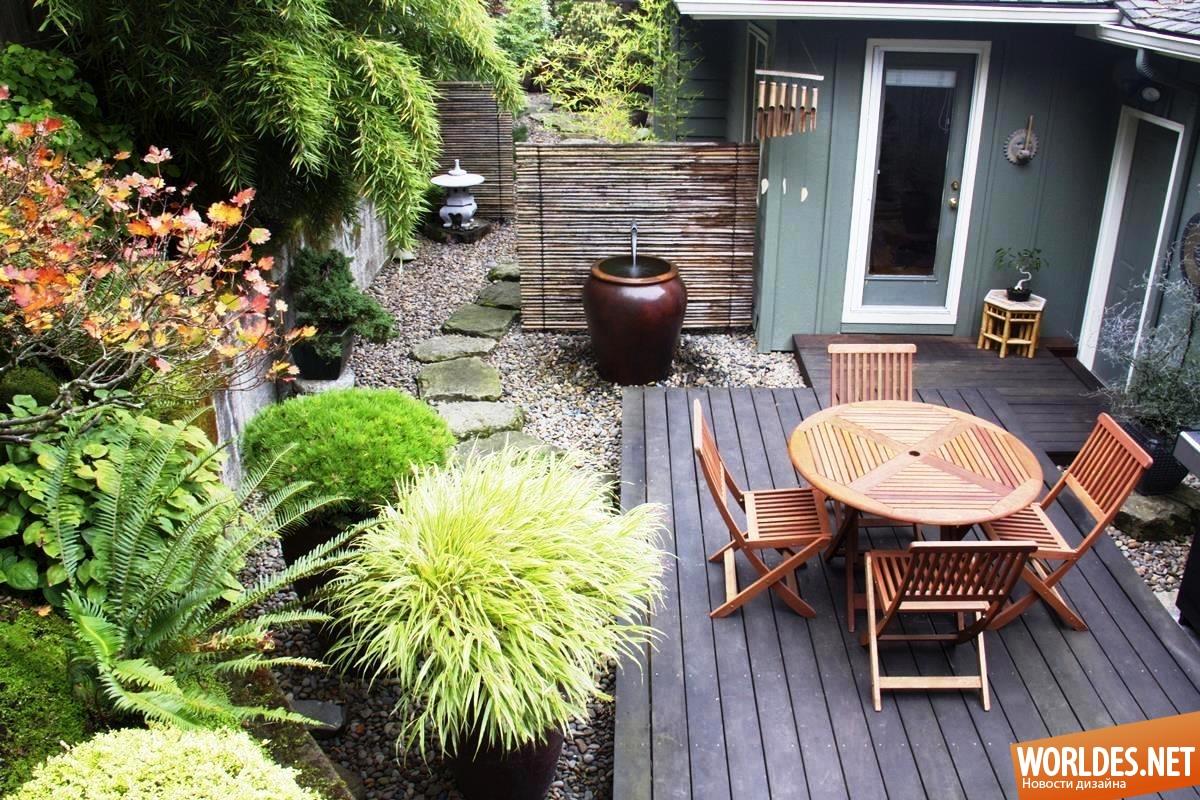 Как обустроить небольшой двор в частном доме своими руками фото 36