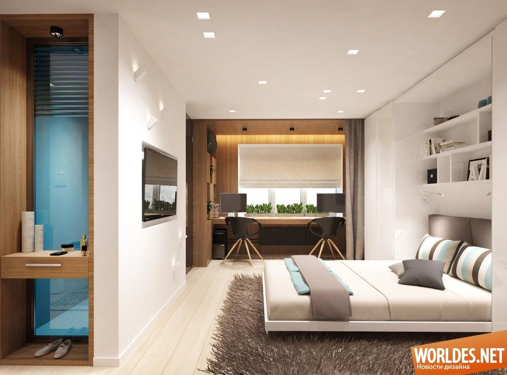 Дизайн однокомнатной квартиры хрущевки 20 кв.м без перепланировки