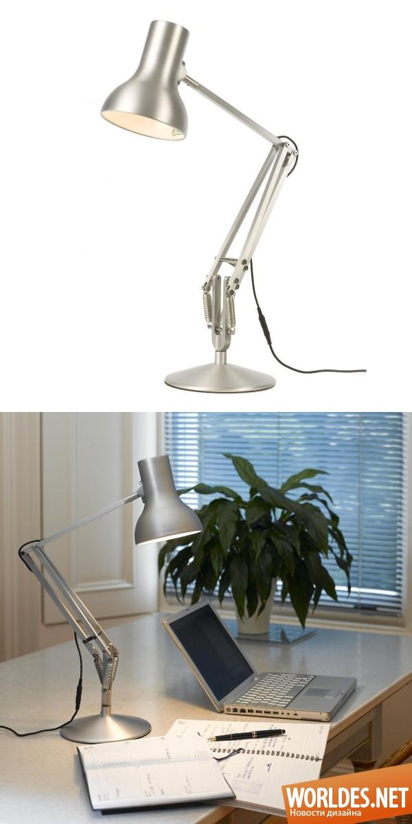 Простая настольная лампа