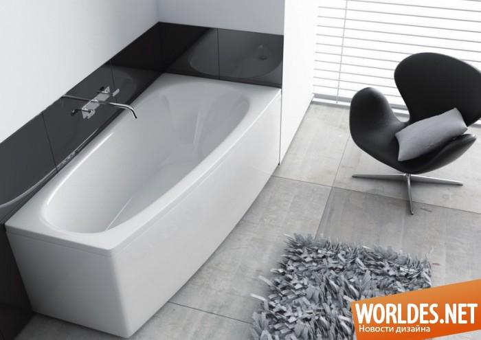 дизайн ванной комнаты, дизайн ванной, дизайн ванны, ванная, ванная комната, ванна, современная ванна, асимметричная ванна, стильная ванна, элегантная ванна, красивая ванна