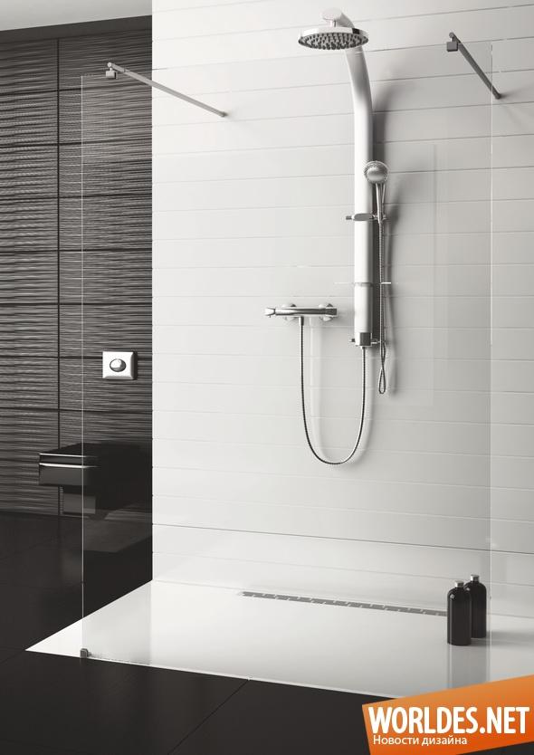 дизайн ванной комнаты, дизайн душевой кабины, ванная комната, душевая кабина, современная душевая кабина