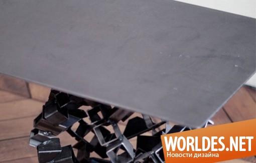 дизайн мебели, дизайн столика, дизайн журнального столика, столик, журнальный столик, современный столик, ассиметричный столик, оригинальный столик, необычный столик, красивый столик