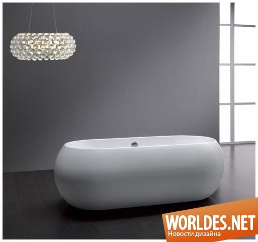 дизайн ванной комнаты, дизайн ванной, ванная, ванная комната, современная ванная, автономная ванная, ванная, автономная ванна, овальная ванна, современная ванна