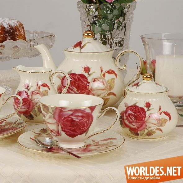 дизайн аксессуаров, дизайн аксессуаров для кухни, дизайн кухонных аксессуаров, дизайн набора чашек, чашки, набор чашек, чайный набор, чайный сервиз, красивый чайный сервиз