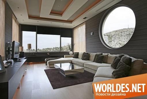 архитектурный дизайн, архитектурный дизайн дома, дизайн дома, дом, современный дом, чрезвычайный дом, красивый дом, большой дом, просторный дом