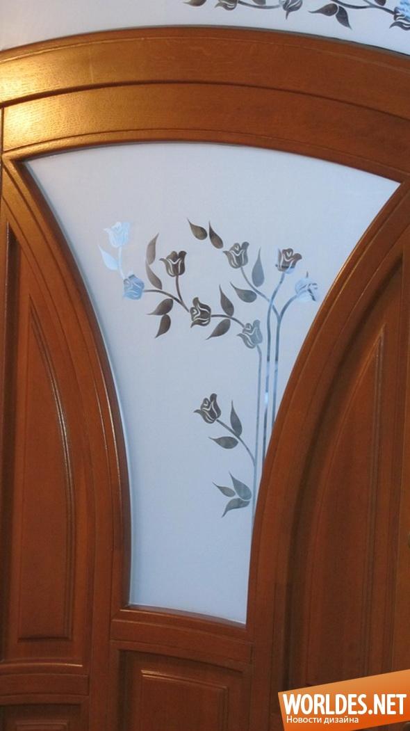 декоративный дизайн, декоративный дизайн стекла, дизайн стекла, декоративное стекло, стекло, стекло, обработанное пескоструйным аппаратом