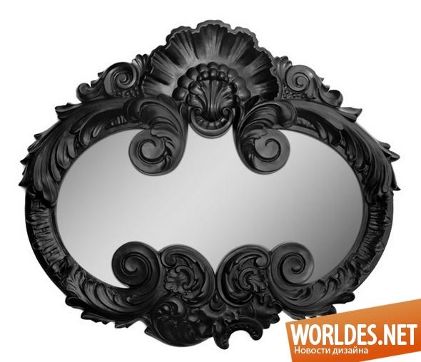декоративный дизайн, декоративный дизайн зеркал, дизайн зеркал, зеркала, декоративные зеркала, современные зеркала