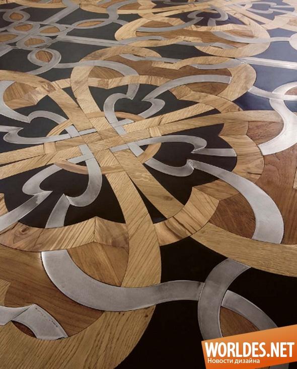 декоративный дизайн, декоративный дизайн пола, дизайн пола, дизайн напольной мозаики, пол, напольная мозаика, деревянная мозаика, деревянная напольная мозаика