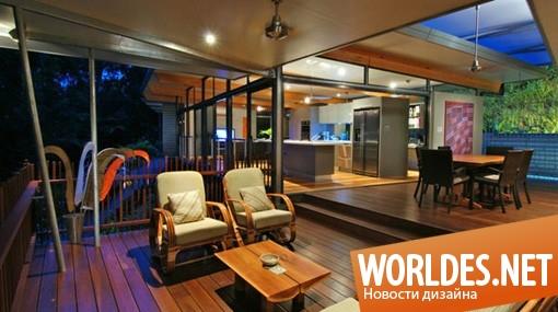 архитектурный дизайн, архитектурный дизайн дома, дизайн дома, дом, оригинальный дом, деревянный дом, дом в горах, современный дом, красивый дом