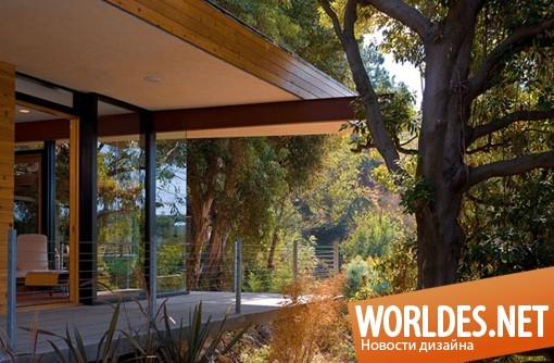 архитектурный дизайн, архитектурный дизайн дома, дизайн дома, дом, деревянный дом, современный дом, красивый дом, стильный дом, деревянный дом, окруженный лесом