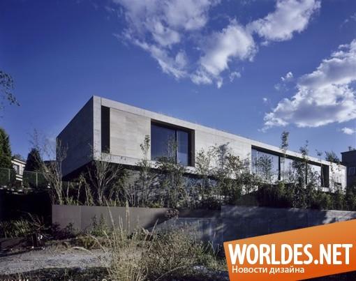 архитектурный дизайн, архитектурный дизайн дома, дизайн дома, дом, современный дом, большой дом, просторный дом, трехэтажный дом, красивый дом, минималистский дом