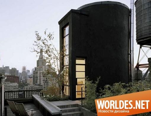 архитектурный дизайн, архитектурный дизайн дома, дом, переоборудованный дом, необычный дом, оригинальный дом
