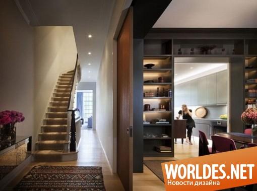 дизайн, дизайн дома, дизайн интерьера дома, интерьер дома, дом анимирован розовыми акцентами
