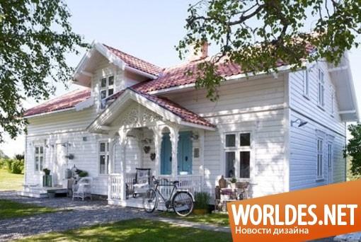 дизайн интерьера, дизайн интерьеров, дизайн интерьера дома, дизайн дома, дом, дом в романтическом стиле, романтичный дом, белый дом, дом в белых цветах, светлый дом, красивый дом, уютный дом